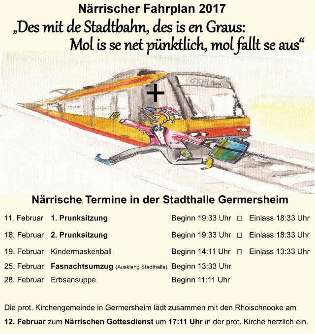 Fahrplan 17-1
